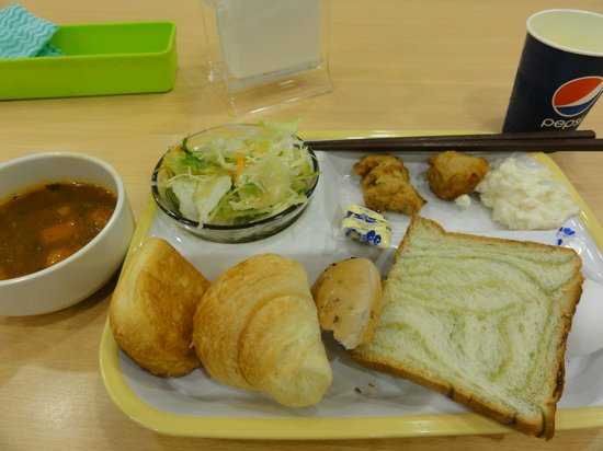 Super Hotel Ueno-Okachimachi: Breakfast