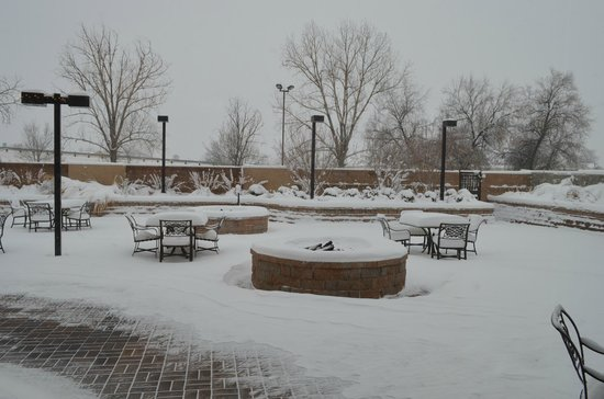Doubletree by Hilton Hotel Denver - Thornton: Loved the snow