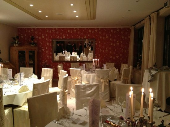 Top Hotel Burg Wegberg: The New Year Gala Dinner