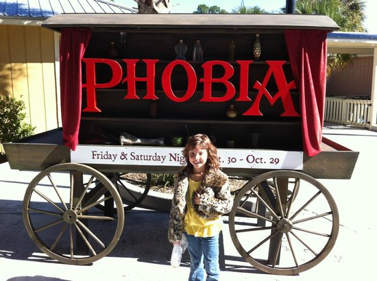 wild adventures theme park october is phobia park decorates and has haunted houses for - Phobia Halloween