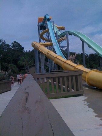 Wild Adventures Theme Park Splash Island Water Ride