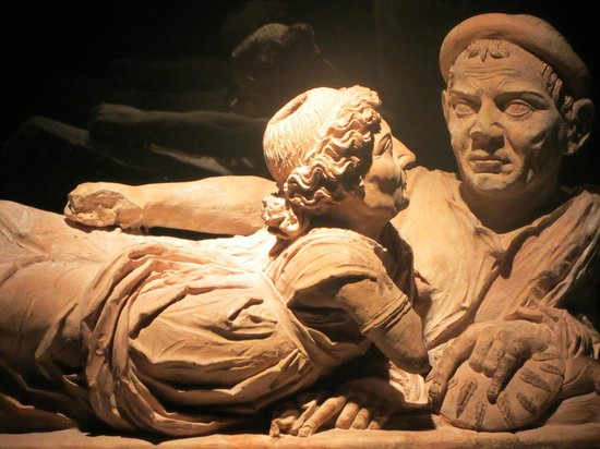 Museo Etrusco Guarnacci: Funerary box