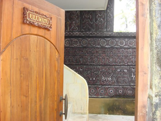Hotel Villa-Ubud: The Entrance