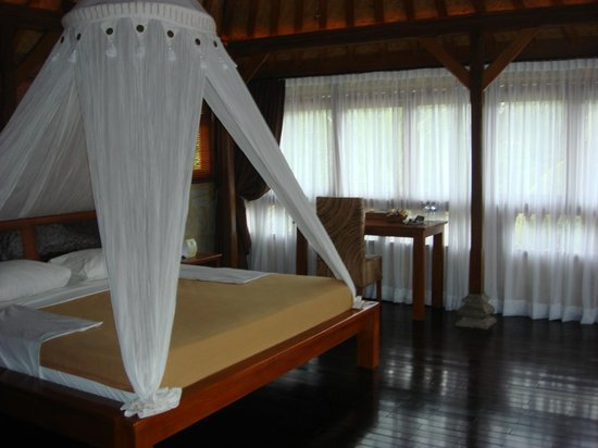 Hotel Villa-Ubud: The room
