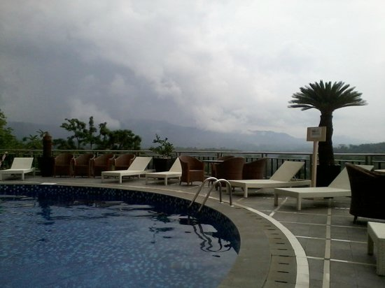 Great Views At Swimming Pool Picture Of Grand Rocky Hotel