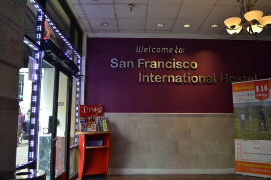 San Francisco International Hostel: Lobby