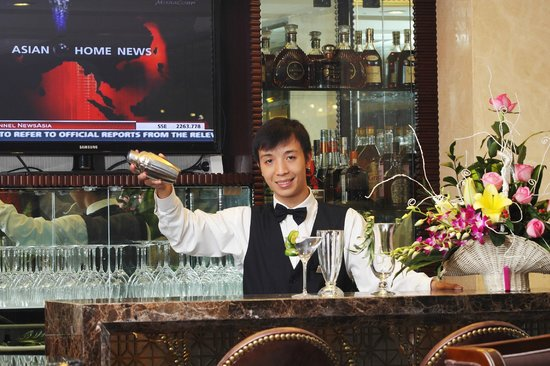 Golden Silk Boutique Hotel: Piano Bar