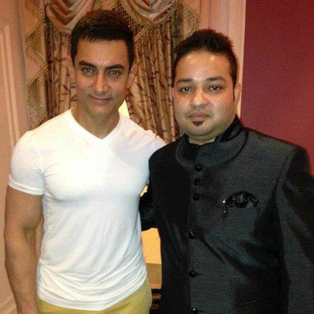 Hotel Harmony Inn: Hotel M.D with Aamit Khan