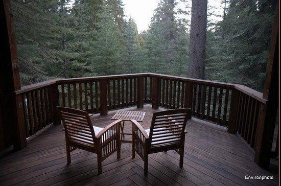 Little Ahwahnee Inn Yosemite: Deck