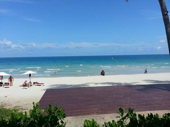 เซ็นทารา แกรนด์ บีช รีสอร์ท: the beach infront of the hotel