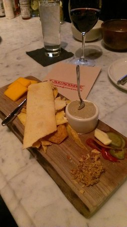 Laundry Restaurant: Cheese, Tasso and Pate!