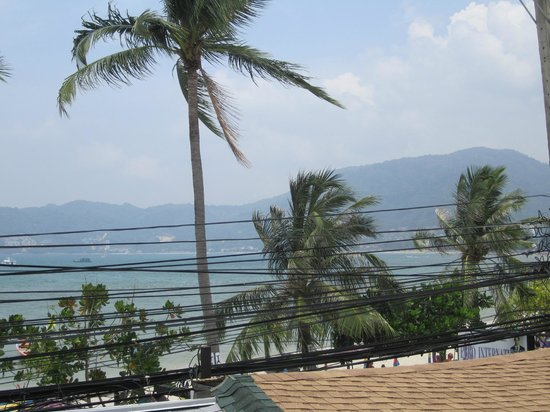 Rayaburi Beach Club Hotel: View from bacony
