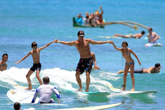 Mickey's Surf School