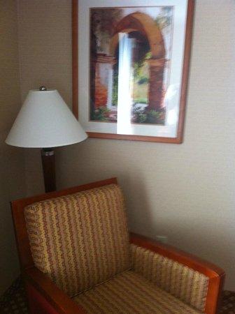 Hilton Garden Inn Norwalk: Corner seat