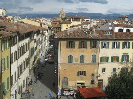 Hotel Palazzo Guadagni: View from loggia