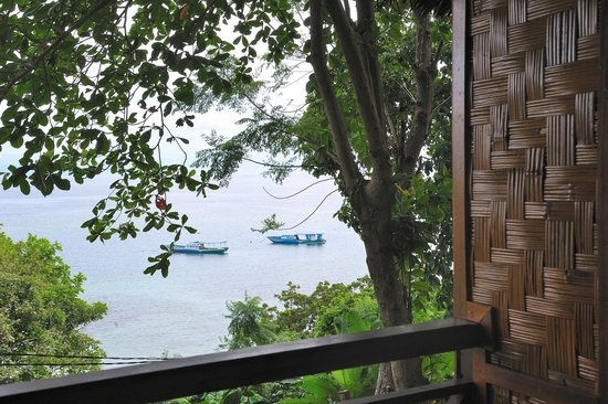 Froggies Divers Bunaken: View from hillside verandah