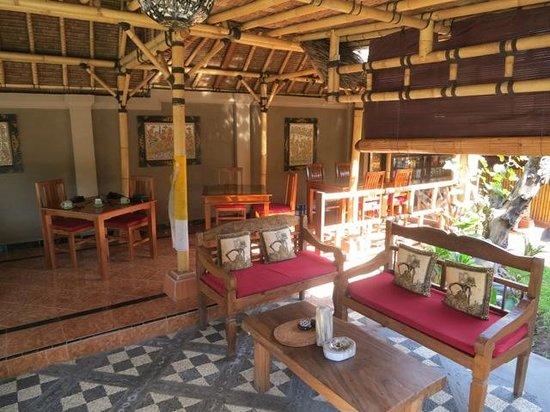Taruna Homestay: Das tolle Restaurant Waruna Taruna