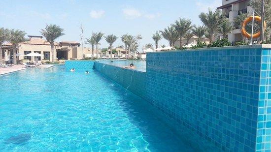 The St. Regis Saadiyat Island Resort: crystal clear pool, several of them