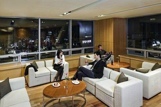 Novotel Ambassador Daegu: 22nd Floor Premier Lounge