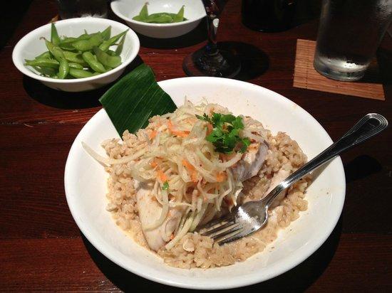 Uahi Island Grill: Mahi with red Thai curry.  Yum