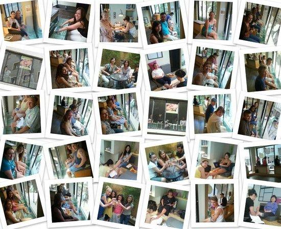 Athens Fish Spa Massage & Hammam: Happy people