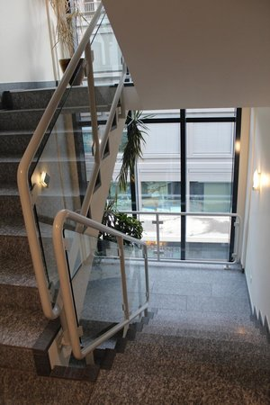 ABC Swiss Quality Hotel : Stairs