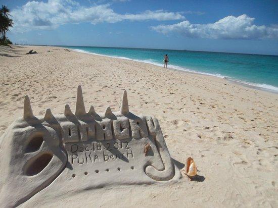 Yapak Beach (Puka Shell Beach): Puka shell beach