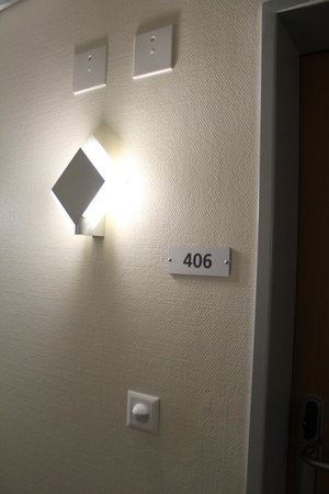 ABC Swiss Quality Hotel : Room entrance