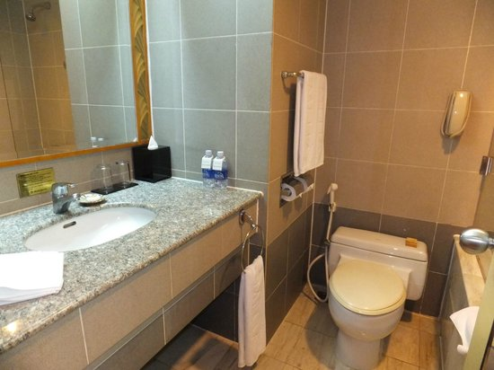 Melia Hanoi: bathroom