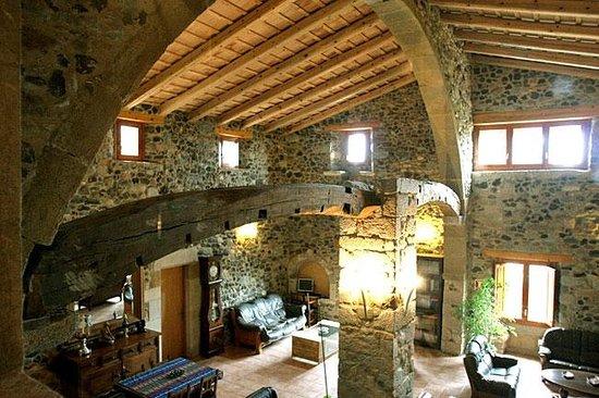 Mas La Casassa : Sala de estar