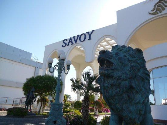 Savoy Sharm El Sheikh: Hotel entrance