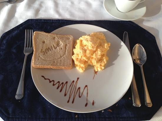 Gleann An Ronnaich : breakfast!!