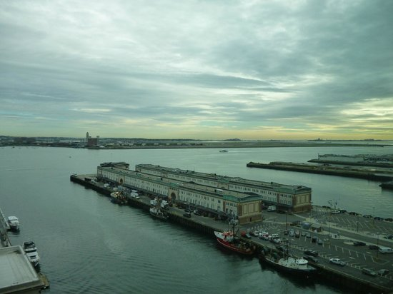 Seaport Boston Hotel: View from our room