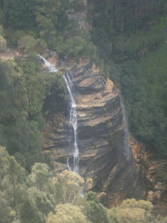 Shelton-Lea B&B: Bridal Veil Falls - bushwalked (slowly) to here in about  2hrs directly from Shelton