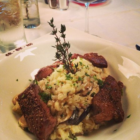 Jacky Angela Steakhouse: risotto