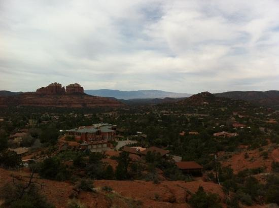Wildflower Inn: Bergwelt in Sedona
