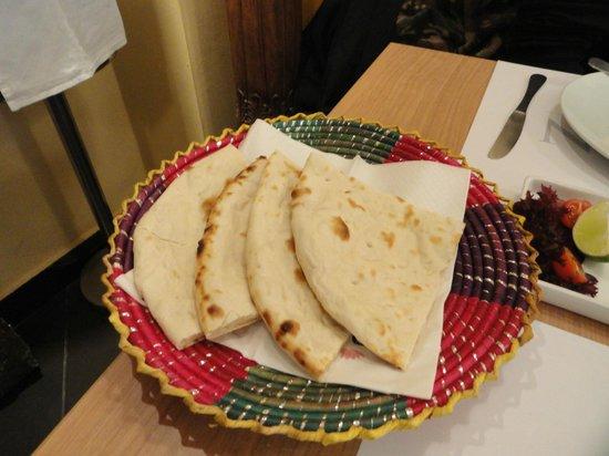 Indian Kitchen : Nan bread light baked in tandoor....