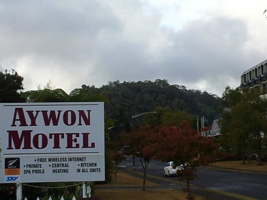 Aywon Motel: View from the Room