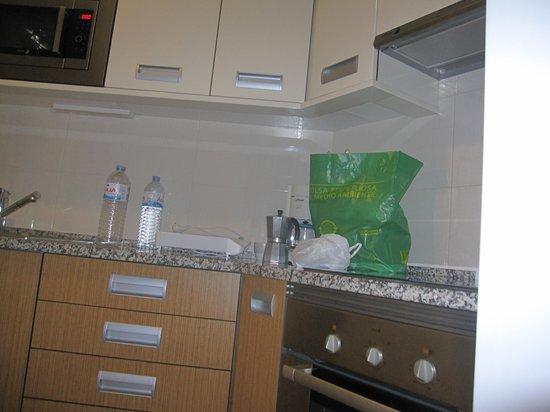 Sagres Time Apartamentos: cocina