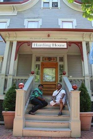 Harding House: entrance