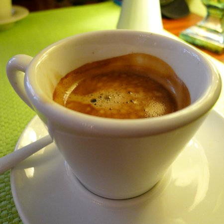 Coffee at Bon Bon Cafe