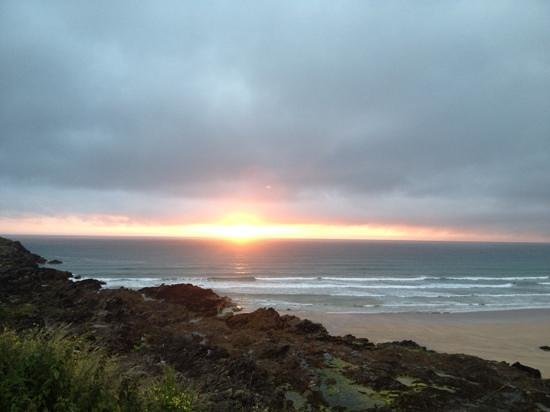 Quiksilver Surf School Newquay: sunset