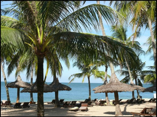 Mai House Resort: The beautiful resort beach area
