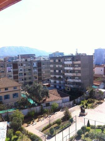 Capital Tirana Hotel : Window view