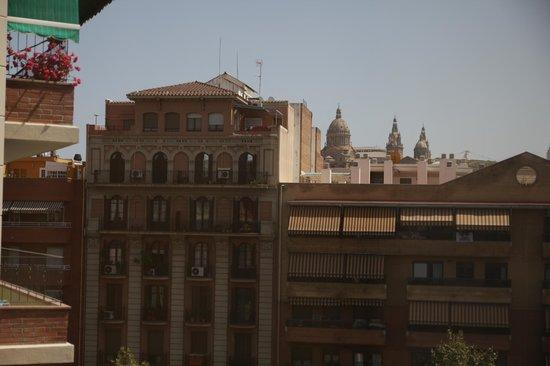 Hotel Azul Barcelona: Ciekawy widok z okna