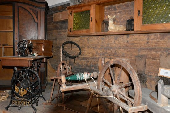 Landgasthof Ropferstub'm: Inside the museum