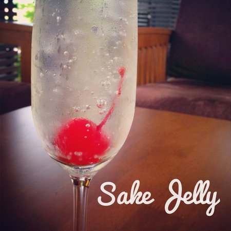 Islanda Hideaway Resort: Sake Jelly