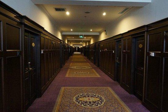 Harbin LongMen Hotel: 2Fの廊下