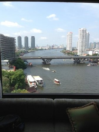 Shangri-La Hotel,Bangkok: view from room 1118