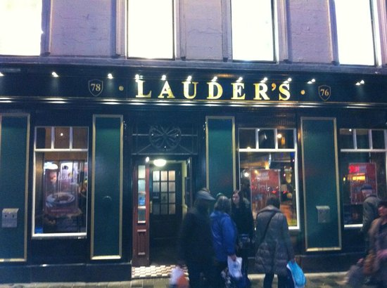 Lauder's outside
